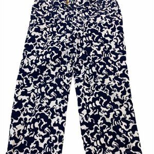 LILLY PULITZER Horse of Course Corduroy Capri Pant